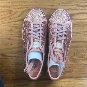 Keds Kickstart KS Glitter Rose Sneakers